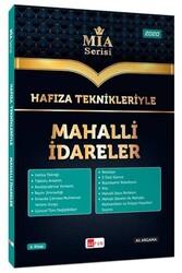 Akfon Yayınları - Akfon Yayınları Hafıza Teknikleriyle Mahalli İdareler MİA Serisi
