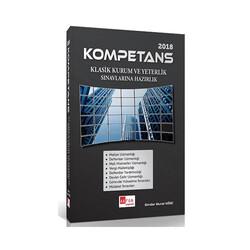 Akfon Yayınları - Akfon Yayınları Kompetans Klasik Kurum ve Yeterlilik Sınavlarına Hazırlık