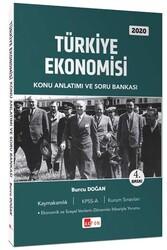 Akfon Yayınları - Akfon Yayınları Türkiye Ekonomisi Konu Anlatımı ve Soru Bankası Temmuz 2020
