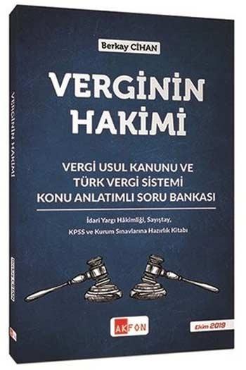 Akfon Yayınları Verginin Hakimi Konu Anlatımlı Soru Bankası