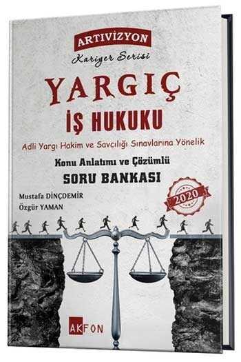 Akfon Yayınları Yargıç Adli Yargı İş Hukuku Konu Anlatımlı Çözümlü Soru Bankası