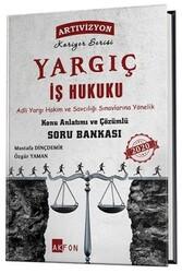 Akfon Yayınları - Akfon Yayınları Yargıç Adli Yargı İş Hukuku Konu Anlatımlı Çözümlü Soru Bankası