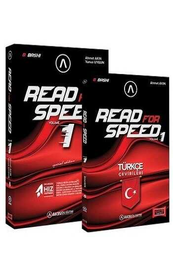 Akın Dil & Yargı Yayınları Read For Speed 8. Baskı