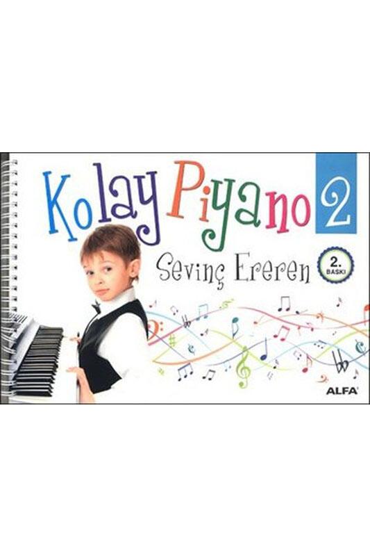 Alfa Yayınları Kolay Piyano 2