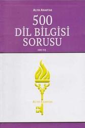 Altın Anahtar Yayınları - Altın Anahtar Yayınları 500 Dil Bilgisi Sorusu