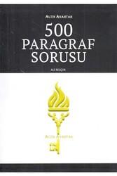 Altın Anahtar Yayınları - Altın Anahtar Yayınları 500 Paragraf Sorusu