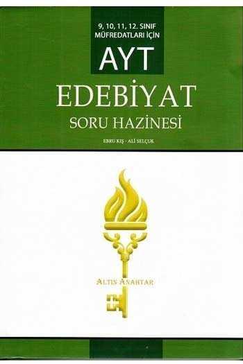 Altın Anahtar Yayınları AYT Edebiyat Soru Hazinesi