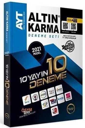 Altın Karma 2021 AYT 10 Farklı Yayın 10 Farklı Deneme