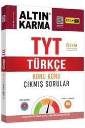 Altın Karma - Altın Karma TYT Türkçe Konu Konu Çıkmış Sorular