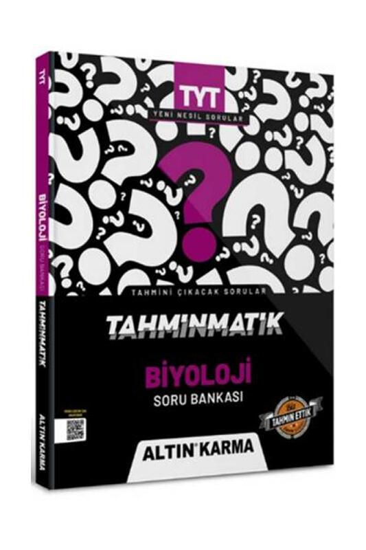 Altın Karma Yayınları 2022 TYT Biyoloji Tahminmatik Soru Bankası
