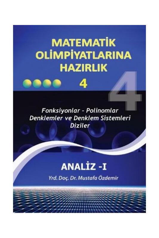 Altın Nokta Yayınları Matematik Olimpiyatlarına Hazırlık 4 Analiz 1