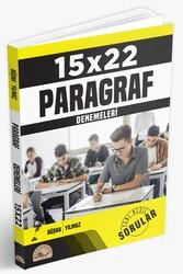 Altıntest Yayınları - Altıntest Yayınları Paragraf 15×22 Denemeleri