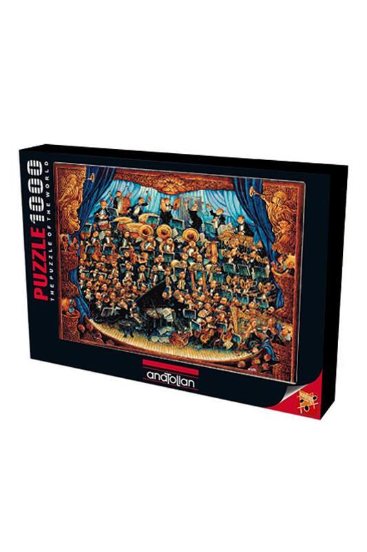 Anatolian Puzzle 1000 Parça Orkestra
