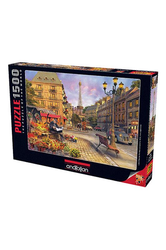 Anatolian Puzzle 1500 Parça Paris Sokakları