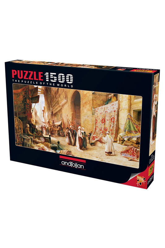 Anatolian Puzzle Kahire`de Halı Pazarı 1500 Parça