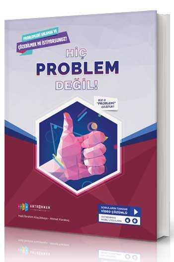Antrenman Yayınları Hiç Problem Değil Tamamı Video Çözümlü Soru Bankası