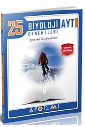 Apotemi Yayınları - Apotemi Yayınları AYT Biyoloji Tamamı Çözümlü 25'li Denemeleri