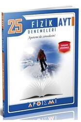 Apotemi Yayınları - Apotemi Yayınları AYT Fizik Tamamı Çözümlü 25'li Denemeleri