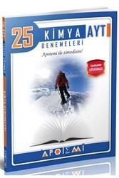 Apotemi Yayınları - Apotemi Yayınları AYT Kimya Tamamı Çözümlü 25'li Denemeleri