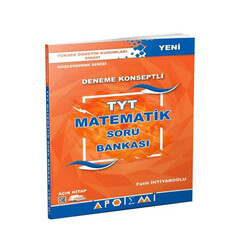 Apotemi Yayınları - Apotemi Yayınları TYT Matematik Deneme Konseptli Soru Bankası