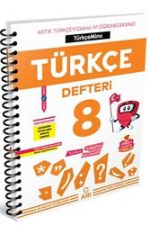 Arı Yayıncılık - Arı Yayıncılık 8. Sınıf LGS Türkçemino Türkçe Defteri