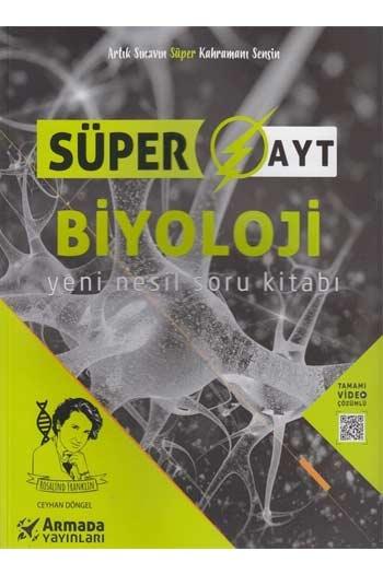 Armada Yayınları AYT Biyoloji Yeni Nesil Süper Soru Kitabı