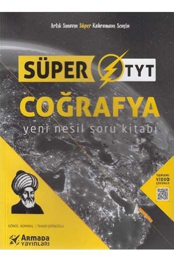 Armada Yayınları TYT Coğrafya Yeni Nesil Süper Soru Kitabı