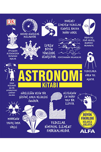 Astronomi Kitabı (Ciltli) Alfa Yayınları