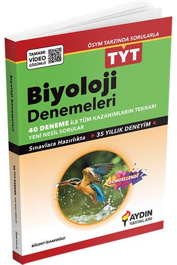 Aydın Yayınları TYT Biyoloji Tamamı Video Çözümlü Denemeleri