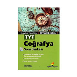 Aydın Yayınları - Aydın Yayınları TYT Coğrafya Soru Bankası