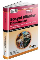 Aydın Yayınları - Aydın Yayınları TYT Sosyal Bilimler Tamamı Video Çözümlü 20'li Denemeleri