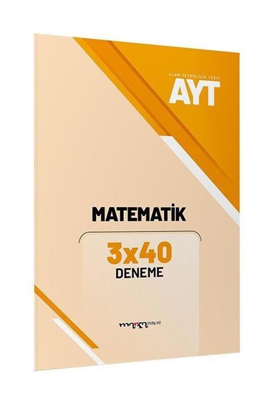 AYT Matematik 3x40 Deneme Marka Yayınları