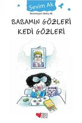 Can Çocuk Yayınları - Babamın Gözleri Kedi Gözleri Can Çocuk Yayınları