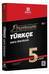 Başka Yayınları - Başka Yayıncılık 5. Sınıf Türkçe Premium Soru Bankası