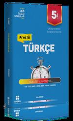 Başka Yayınları - Başka Yayıncılık 5. Sınıf Türkçe Prestij Yeni Nesil Soru Bankası