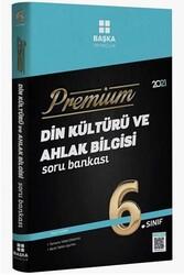 Başka Yayınları - Başka Yayıncılık 6. Sınıf Din Kültürü ve Ahlak Bilgisi Premium Soru Bankası