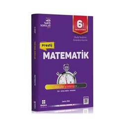 Başka Yayınları - Başka Yayıncılık 6. Sınıf Matematik Prestij Yeni Nesil Soru Bankası