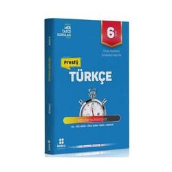 Başka Yayınları - Başka Yayıncılık 6. Sınıf Türkçe Prestij Yeni Nesil Soru Bankası