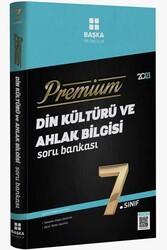 Başka Yayınları - Başka Yayıncılık 7. Sınıf Din Kültürü ve Ahlak Bilgisi Premium Soru Bankası