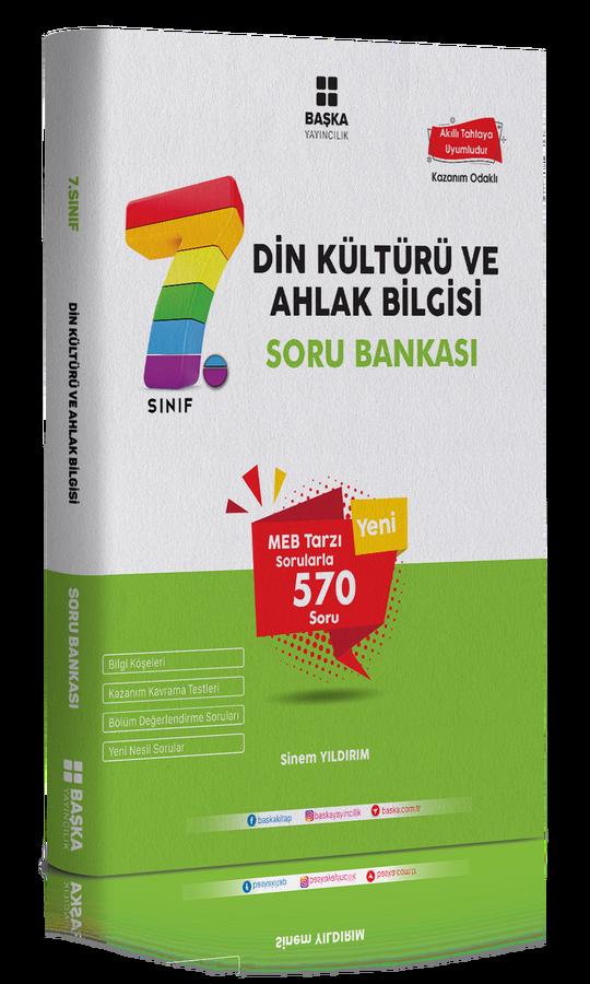 Başka Yayıncılık 7. Sınıf Din Kültürü Ve Ahlak Bilgisi Soru Bankası