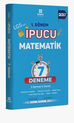 Başka Yayınları - Başka Yayıncılık LGS 1.Dönem İpucu Matematik 7 Deneme