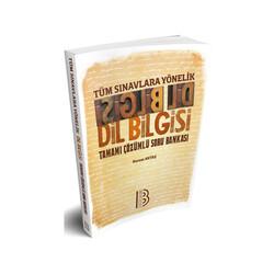 Benim Hocam Yayıncılık - Benim Hocam Yayınları 2019 Tüm Sınavlara Yönelik Dilbilgisi Tamamı Çözümlü Soru Bankası