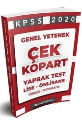 Benim Hocam Yayıncılık - Benim Hocam Yayınları 2020 KPSS Lise Ön Lisans Genel Yetenek Çek Kopart Yaprak Test