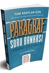 Benim Hocam Yayıncılık - Benim Hocam Yayınları 2020 Tüm Adaylar İçin Paragraf Tamamı Çözümlü Soru Bankası