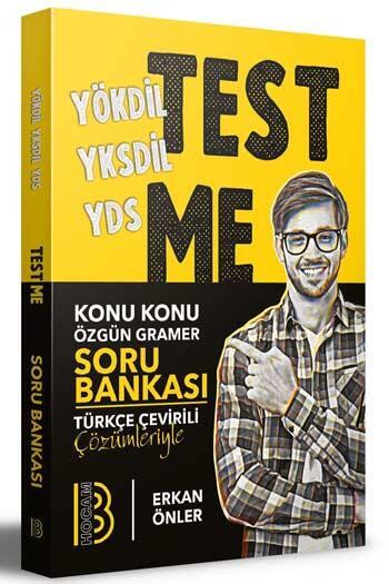 Benim Hocam Yayınları 2020 YÖKDİL YKSDİL YDS Gramer Test Me Soru Bankası