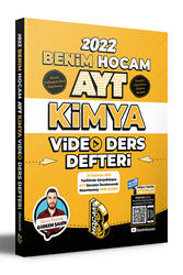 Benim Hocam Yayınları 2022 AYT Kimya Video Ders Defteri Hediyeli - Thumbnail