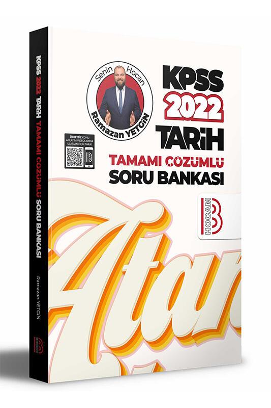 Benim Hocam Yayınları 2022 KPSS Tarih Tamamı Çözümlü Soru Bankası