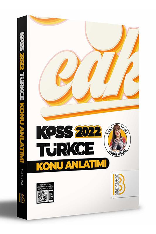 Benim Hocam Yayınları 2022 KPSS Türkçe Konu Anlatımı