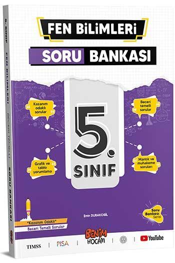 Benim Hocam Yayınları 5. Sınıf Fen Bilimleri Soru Bankası