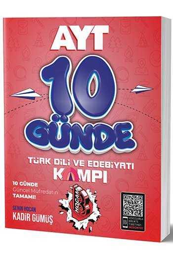 Benim Hocam Yayınları AYT Türk Dili ve Edebiyatı 10 Günde Kamp Defteri